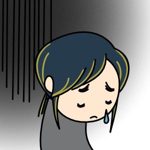 アイコン 悲しい