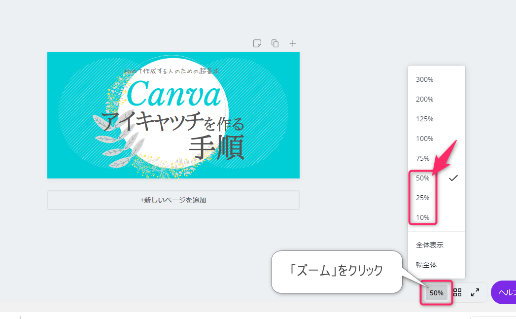 CanvaZoom